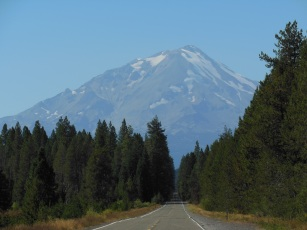 Mt. Shasta from the Volcanic Scenic Legacy Byway