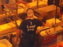 Cheesy humor at the Tillamook Cheese Factory