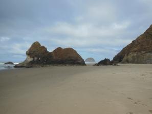Beautiful drive along the Oregon coast