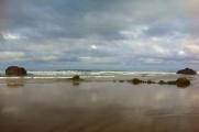 Clouds rolling in at Arcadia Beach, near Wheeler, Oregon.