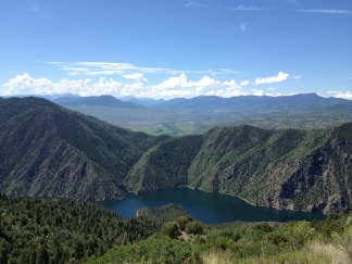 Views from the West Elk Scenic Byway