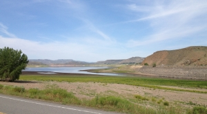 View of Blue Mesa Reservoir from the Silver Thread Scenic Byway
