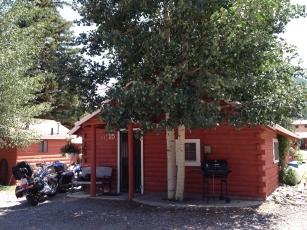 Our cozy cabin in Lake City, Colorado