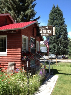 G&M Cabins in Lake City, Colorado.