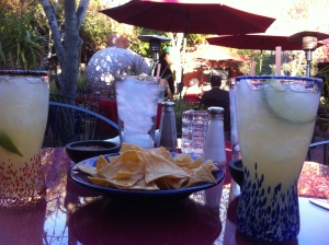 Happy hour in Chandler, Arizona, during a Valentine's Day road trip.