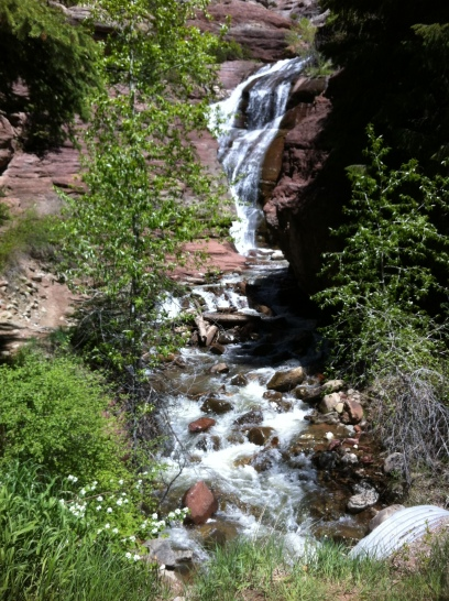 Waterfall near Redstone, Colorado.