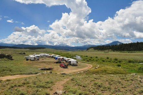 The ultimate backcountry camping experience!