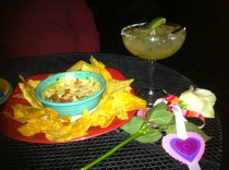 Cien Agaves, home of 100 tequilas, for a Valentine's Day dinner in Oldtown Scottsdale.