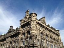 Beautiful architecture in Edinburgh..