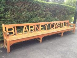 Blarney Castle bench