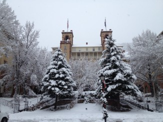 Hotel Colorado in Glenwood Springs
