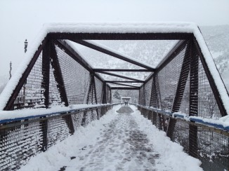 Glenwood Springs pedestrian bridge