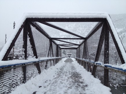 Glenwood Springs pedestrian bridge