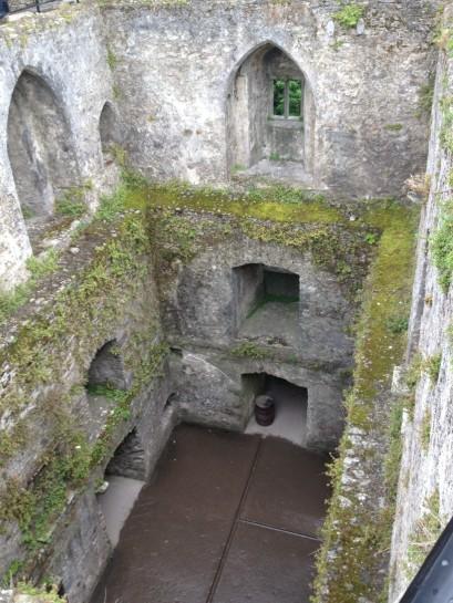 Inside Blarney Castle