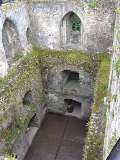 Inside Blarney Castle