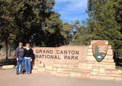 Our winter weekend at the Grand Canyon National Park