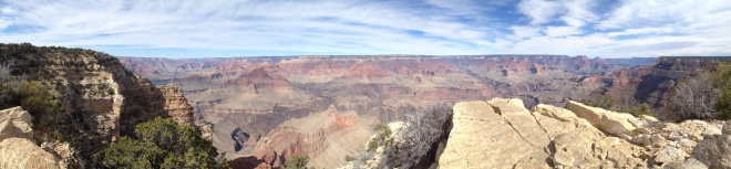 View from the South Rim at Grand Canyon National Park