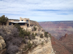 The Lookout Studio at the Grand Canyon
