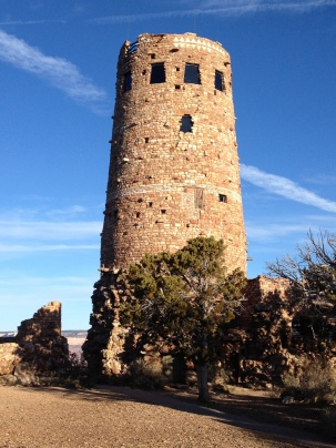 Colter's Watchtower at Desert View