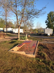 RV Site at Fort Collins KOA