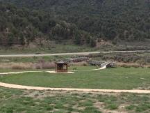 Walking path at Rifle Gap State Park.