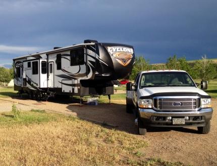 Yampa River State Park campsite