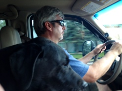 My road captains at the wheel.
