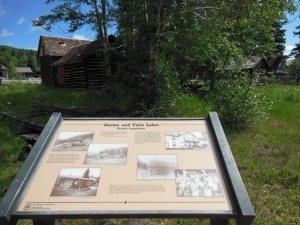 The historic Village at Twin Lakes