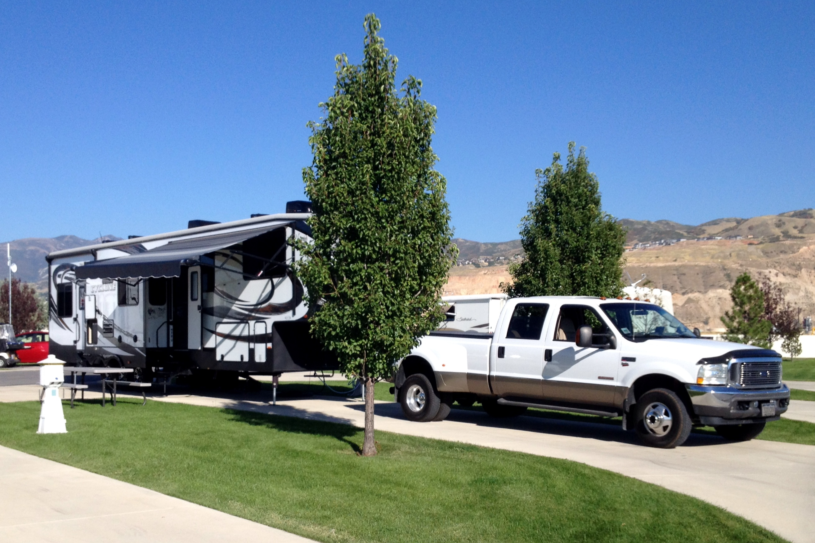 Campground Review Pony Express Rv Resort In Salt Lake