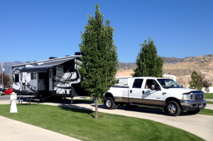 Campsite at Pony Express