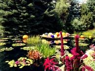 Chihuly Exhibit at the Denver Botanic Garden