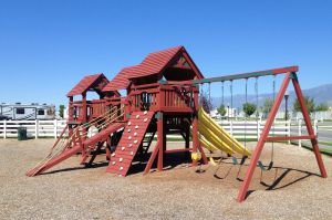 Playground at Pony Express