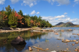 Jordan Pond at Acadia National Park