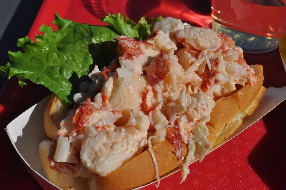 Lobster Roll at Thurston's