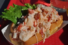 Lobster Roll at Thurston's