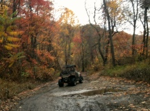 A fall ride on the Hatfield McCoy Trails