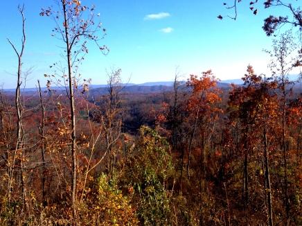 Views on the Pocahontas Trail