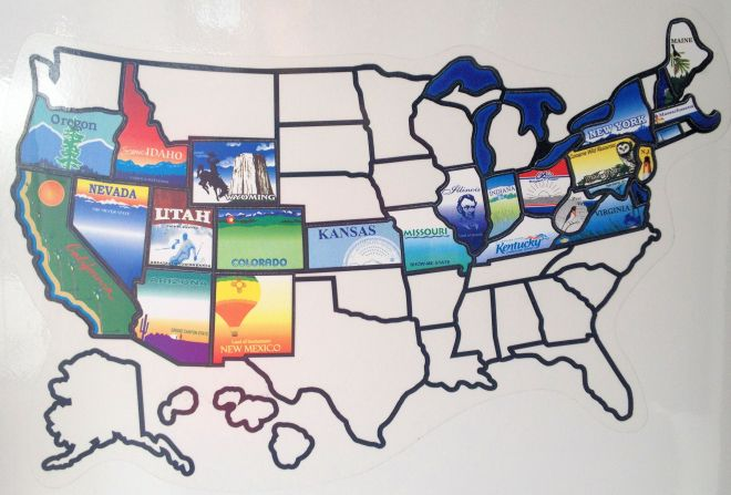 Twenty-six states and more than 18,000 miles.