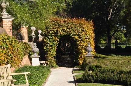 Colonial Williamsburg Garden at Governor's Palace
