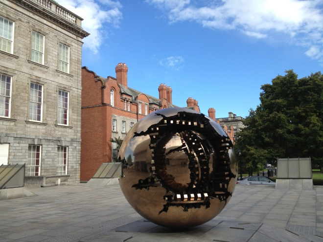 Sphere With Sphere at Trinity College Dublin