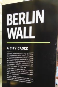 Newseum Berlin Wall Sign