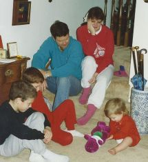 Kevin, Julie, Dave, Eric, Emma and Barney