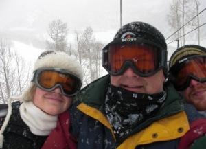 On a recent ski trip