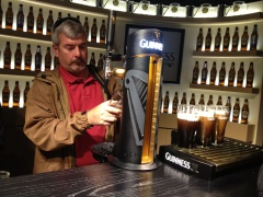 Learning to pour a proper pint