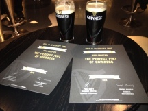 Passing the pint test at Guinness