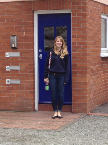 Saying goodbye at University College Cork