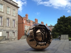 Sphere within a Sphere at Trinity College Dublin