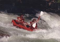 Mandy and Scott Kayaking
