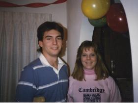 Scott and Mandy 1986
