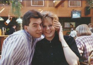 Scott and Mandy at Harpos